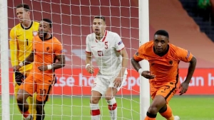 Bergwijn scores the winning goal for The Netherlands