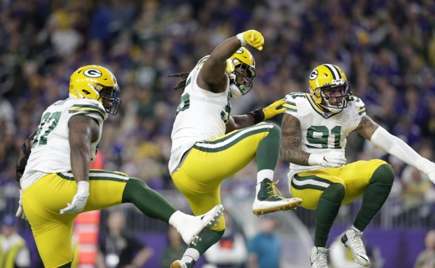 Packers clinch NFC North with win over Vikings