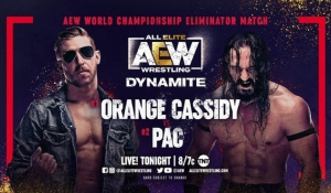 Finish of Orange Cassidy Vs. PAC was changed on the fly