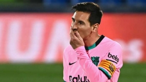 Veron: Messi is uncomfortable at Barcelona