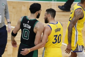 Golden State Warriors v Boston Celtics: Tatum (44) bests Curry (47), Celtics beat Warriors