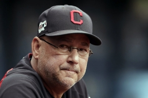 In this Sept. 1, 2019, file photo, Cleveland Indians manager Terry Francona watches during the first inning of a baseball game against the Tampa Bay Rays in St. Petersburg, Fla. The Cleveland Indians expect manager Terry Francona to return for the 2021 season after he missed 47 games this season due to health reasons. Team president Chris Antonetti said Tuesday, Oct. 6, 2020, that the 61-year Francona is back home in Arizona resting and recovering. Francona was hospitalized this season after undergoing surgery for a gastrointestinal issue and then dealing with blood clotting complications.