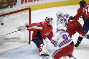 New York Rangers v Washington Capitals: Lafrenière scores 2nd of season, Rangers beat Capitals