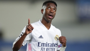 Real Madrid v Liverpool: Vincius Junior's double inspires Zinedine Zidane's side to first leg win