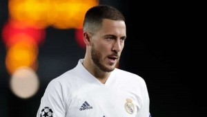 Hazard ruled out of Champions League clash with Atalanta
