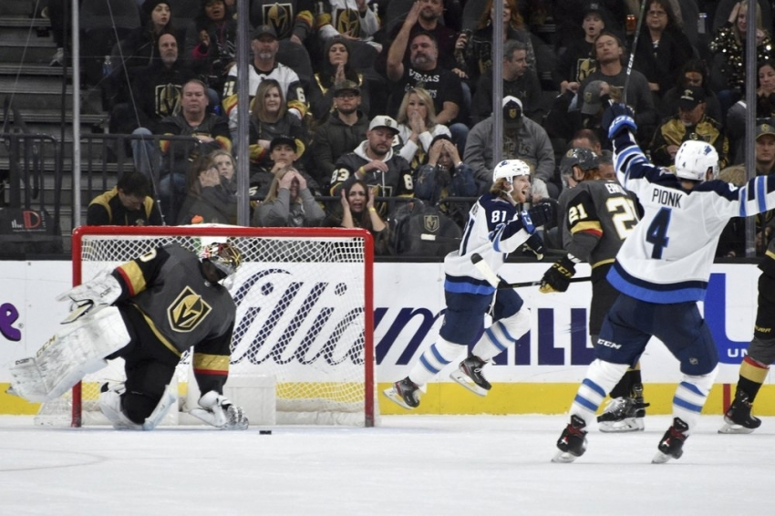 Jets rally to beat Golden Knights in OT on Connor's goal