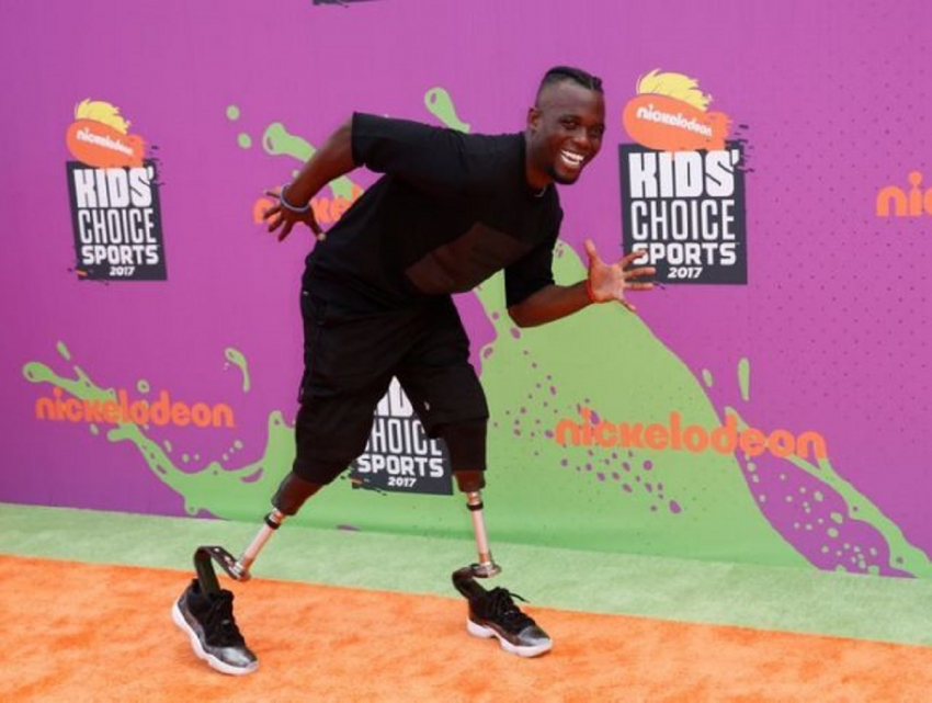 2017 Kids Choice Sport Awards – Arrivals – Los Angeles, California, U.S., 13/07/2017 - Paralympic athlete Blake Leeper.