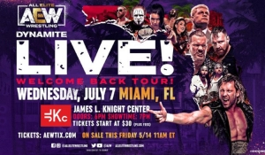 AEW to resume touring in July