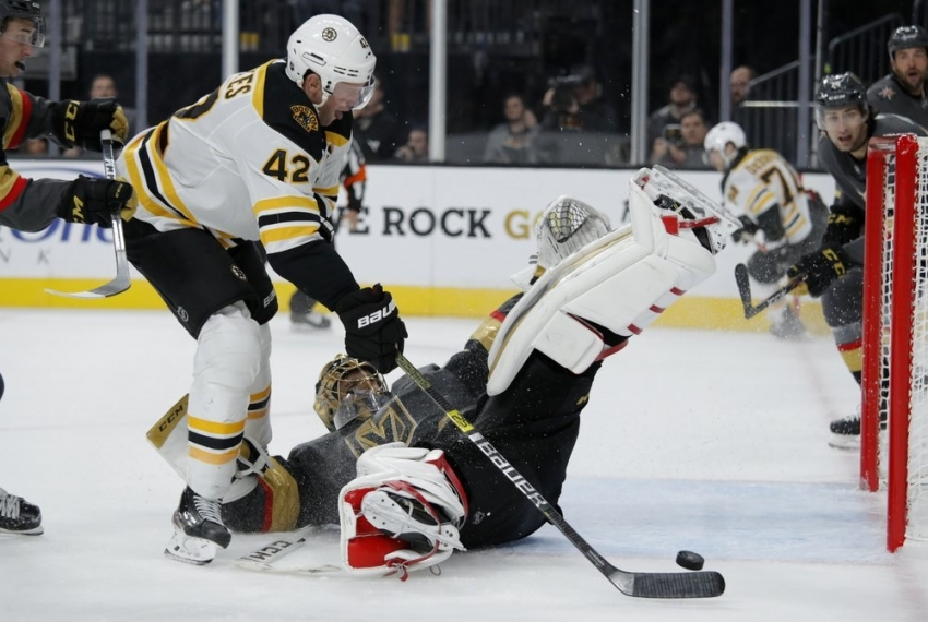 Bruins top Golden Knights, off to best start in 18 years