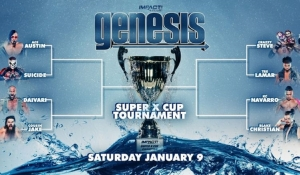 IMPACT Wrestling Super X-Cup brackets revealed