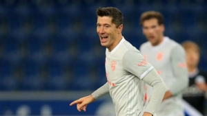 Arminia Bielefeld v Bayern Munich: Lewandowski continues hot scoring streak as Tolisso sees red