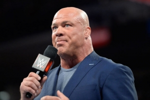 Kurt Angle talks about his new role in WWE